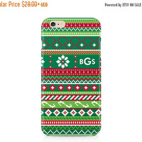 iPhone 6s, Samsung Galaxy, Ugly Christmas Sweater, iPhone Case, Ugly Sweater, Phone Case, Personalized, Phone Cover, Monogram Phone Case