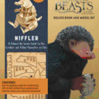 Incredibuilds: Fantastic Beasts and Where to Find Them: Niffler Deluxe Book and Model Set  Incredibuilds