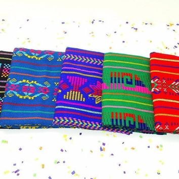 Mexican Tribal fabric, By Half yard, Fiesta decoration, Latin American, Wedding decor , Embroidered fabric