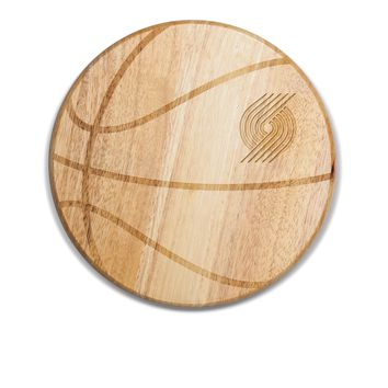 Portland Trailblazers - 'Free Throw' Basketball Cutting Board & Serving Tray by Picnic Time