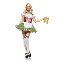 Leg Avenue Womens Gretchen Halloween Party Oktoberfest Costume