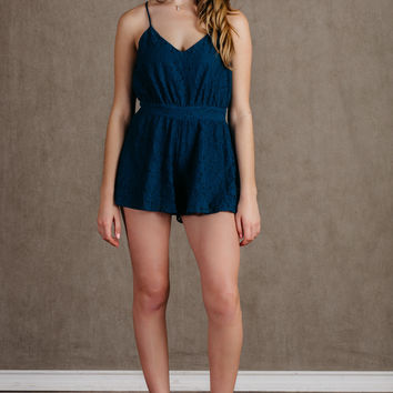 Let's Love While We're Young Romper