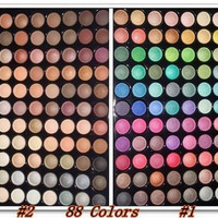 New professional 88 Color Eyeshadow Palette