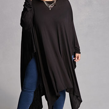 Plus Size Handkerchief Top
