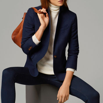 STRUCTURED BLUE BLAZER - View all - Blazers - WOMEN - Italia/Italy