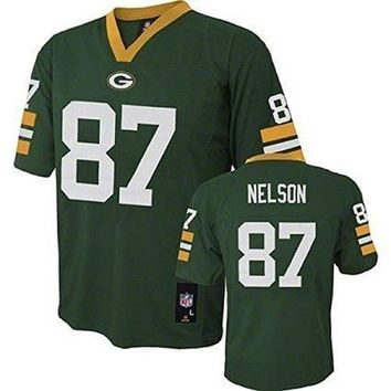 Jordy Nelson Green Bay Packers NFL Toddler Green Home Mid-tier Jersey