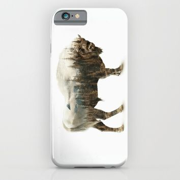 Bison iPhone & iPod Case by RIZA PEKER