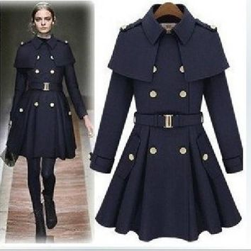Dress Coat Star Scarf Jacket [11822888079]