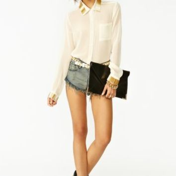 Gold Bar Blouse