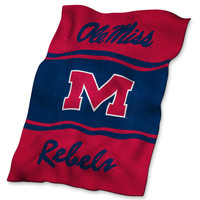 Logo Chair Inc. Ole Miss Ultrasoft Blanket