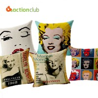 Marilyn Monroe Decor Cushions Brand 2016 Home Car Decorative Cushion Throw Pillows  Marilyn Monroe Decor Cojines HH548