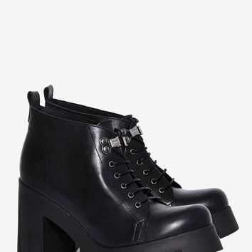 Shellys London Kole Leather Combat Boot