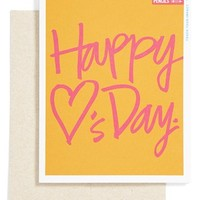 Me to We Artisans 'Happy <3's Day' Valentine's Day Card (Juniors) | Nordstrom