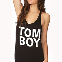 FOREVER 21 Tom Boy PJ Set