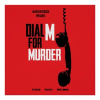Dial M for Murder - Alfred Hitchcock Poster