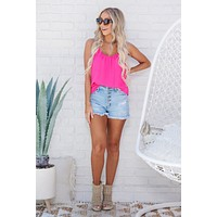 Catch Your Eye Top (Hot Pink)