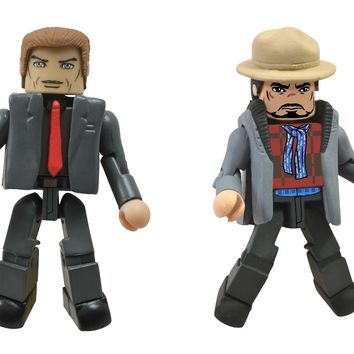 Marvel Minimates Iron Man 3: Aldrich Killian and Tony Stark Minimate Figure