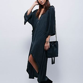 Free People Womens Wrapped Up In You Kimono