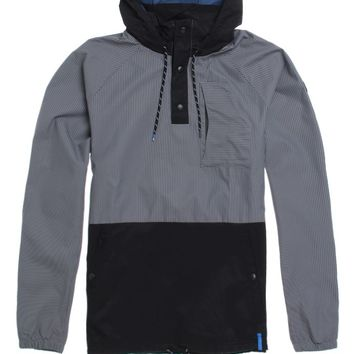Adidas Silas Windbreaker Jacket - Mens Jacket - Grey
