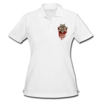 The Walking Dead Women's Pique Polo Shirt - Women's Pique Custom Polo Shirt