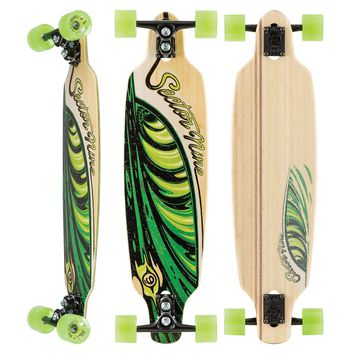 """Sector 9 Bamboo Lucky Shoots Complete Longboard - 8.7"""""""