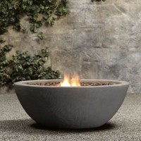 Lava Rock Propane Fire Bowl | Fire Tables & Fire Bowls | Restoration Hardware