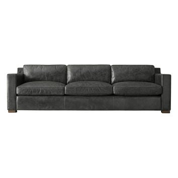 TAG by Tandem Arbor Lafayette Extra Deep Sofa - Black -