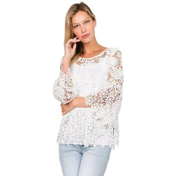 Sweet Blessings Lace Top