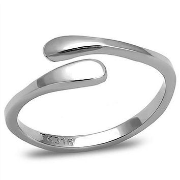 WildKlass Stainless Steel Ring High Polished Women