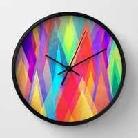 Colorland Wall Clock by Elisabeth Fredriksson