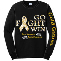 Faith Cheer Tee | Pop Warner Gold Games