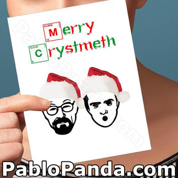 Holiday Cards | Jesse Pinkman Card | Walter White Card Breaking Bad Christmas Gift Modern Christmas Girlfriend Card Boyfriend Card Boyfriend