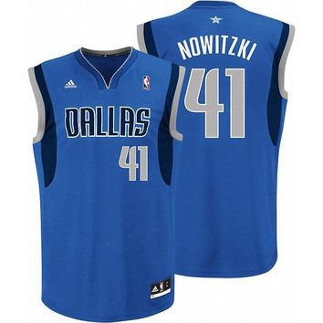 Dallas Mavericks Dirk Nowitzki #41 jerseys