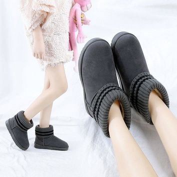Hot Deal On Sale Winter Flat Boots [47583133703]