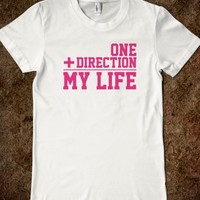 Awesome Math-Inspired 'One + Direction = My Life' T-Shirt
