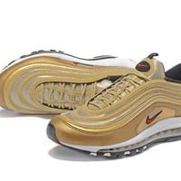 Air Max 97 Royal 24k Gold/Red Swoosh