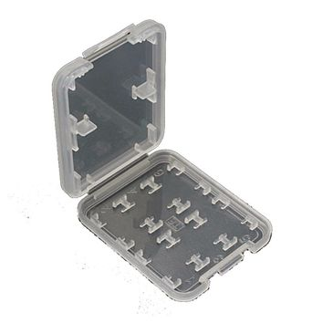 1 piece New 8 Slots Card Protecter Box Storage Case Holder