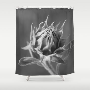 Sunflower Shower Curtain by Cinema4design | Society6