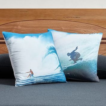 Kelly Slater Photoreal Pillow Cover