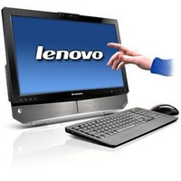 Lenovo B320 77601CU Touchscreen All-In-One 21.5-Inch Desktop (Black)