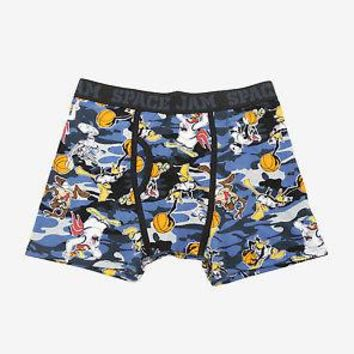 Licensed cool WB Looney Tunes Space Jam Camo Men's Boxer Briefs Underwear S-XL Licensed NEW
