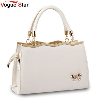 Vogue Star 2016 Hot women messenger bags luxury tote crossbody purses leather clutch handbags famous brands designer bag  LS433