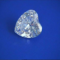 1.04ct G-SI1 Heart shape Loose Diamond  GIA certified Jewelry Anniversary Engagement JEWELFORME BLUE