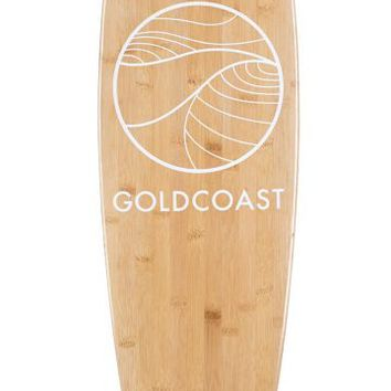 Classic Bamboo Pintail Longboard Deck - GoldCoast - North America