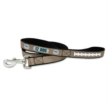 LMFON Seattle Seahawks 12th Dog Reflective Football Pet Leash