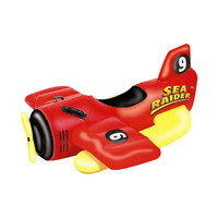 Swimline Raider Ride-On Sea Plane Pool Toy