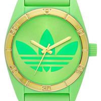 adidas Originals 'Santiago' Neon Watch | Nordstrom
