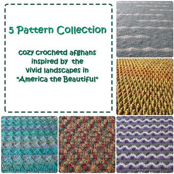 America the Beautiful: 5 Crochet Afghan Patterns