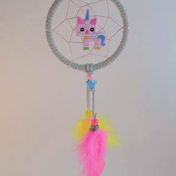 Lego Movie Unikitty dream catcher