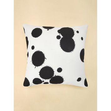 Polka Dot Print Pillowcase Cover 1PC